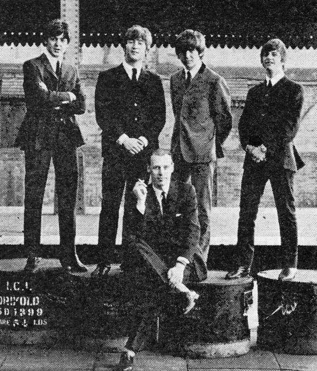 The Beatles e George Martin