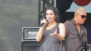Rebeca Matta na Virada Cultural 2013