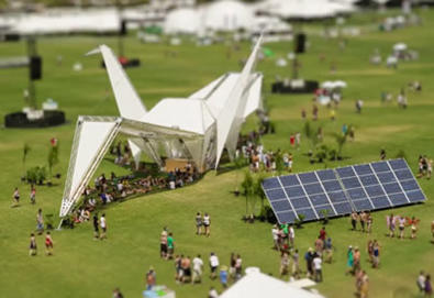 "Vídeo documenta Coachella Festival em ""miniaturas"""