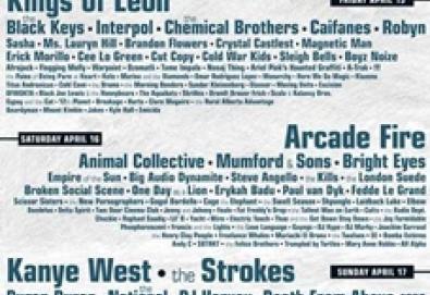 Coachella Festival 2011 revela seu lineup; Death From Above 1979 se reunirá para esta edição
