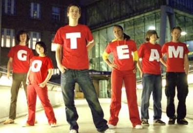 Motomix 2008: The Go! Team se apresenta neste sábado [grátis]
