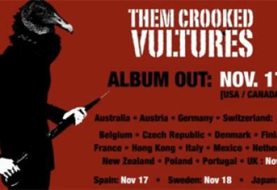 Ouça o primeiro single do Them Crooked Vultures