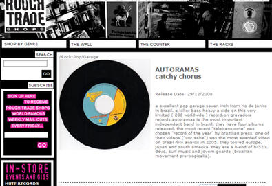 Autoramas na Rough Trade Records