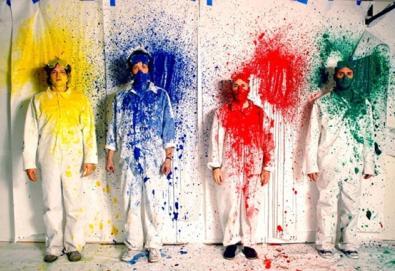OK Go se apresenta nas ruas de São Paulo