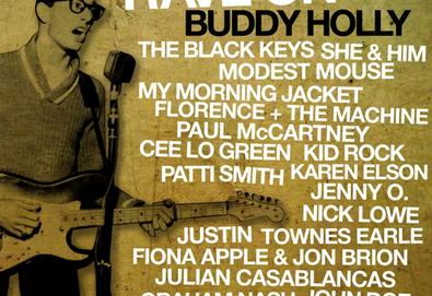 Álbum tributo a Buddy Holly traz Lou Reed, Patti Smith, Black Keys, Paul McCartney, Modest Mouse,entre outros