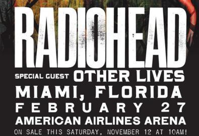Radiohead surpreende em Miami e toca duas novas faixas; veja aqui