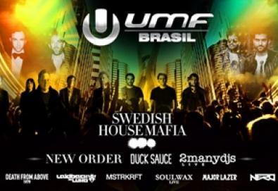 UMF Brasil: [ New Order + DFA 1979 + Soulwax + Diplo + Mixhell + outros]