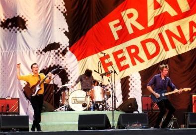 Franz Ferdinand toca músicas inéditas em show; ouça aqui