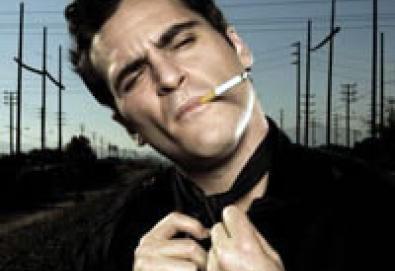Joaquin Phoenix grava com vocalista do Charlatans