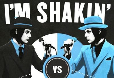 "Jack White enfrenta Jack White no vídeo de ""I'm Shakin"""