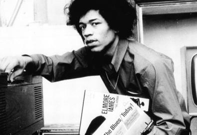 Material inédito de Jimi Hendrix será lançado em 2013