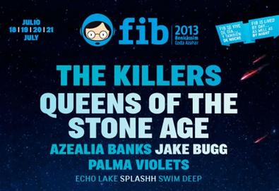 FIB 2013 terá The Killers, Queens of the Stone Age, Palma Violets, Jake Bugg, entre outros