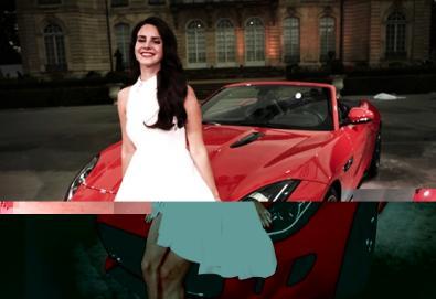 Lana Del Rey estreia vídeo com novo carro da Jaguar