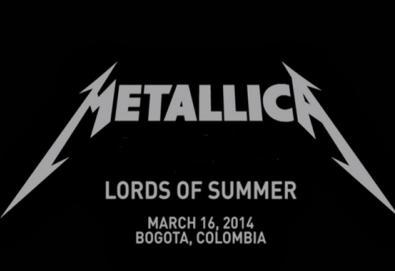 Metallica toca faixa inédita em turnê pela América do Sul