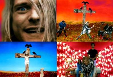 """Dave Grohl revela imagens inéditas do vídeo de """"Heart Shapped Box"""", do Nirvana"""