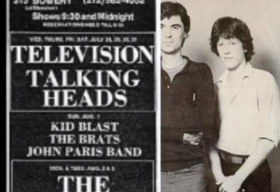 """Ouça """"Theme""""; faixa inédita dos Talking Heads gravada em 1976"""
