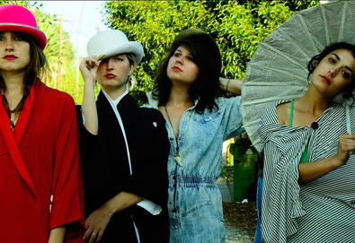 "Versão remix: Warpaint - ""New Song"" (Por Mike D)"