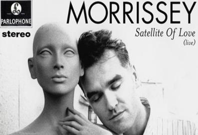 """Morrissey faz versão de """"Satellite of Love"""" de Lou Reed"""