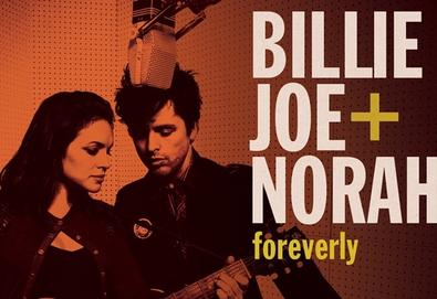 "Ouça ""Foreverly"", projeto musical de Norah Jones e Billie Joe (Green Day)"