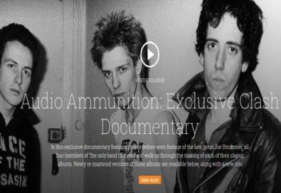 Veja o documentário exclusivo sobre a trajetória do The Clash